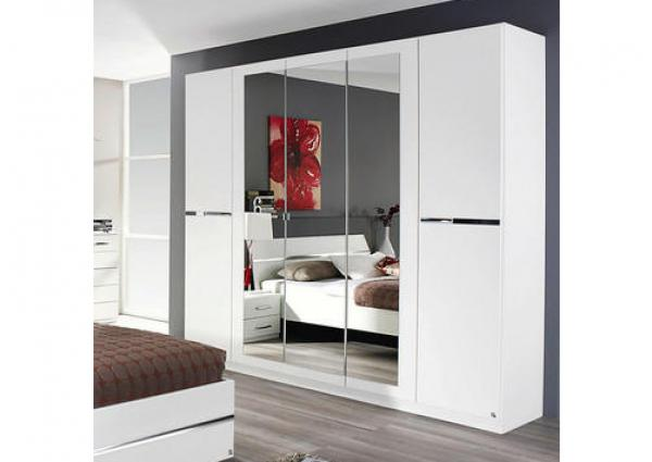 garde robe blanche blanc netbed. Black Bedroom Furniture Sets. Home Design Ideas