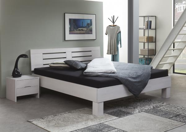 Massief houten bed Dustin