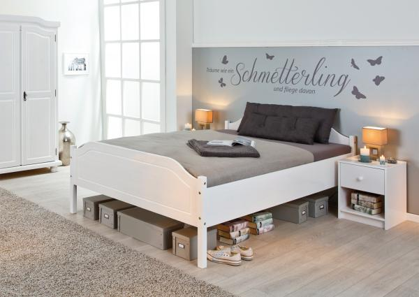 Massief houten bed Lize