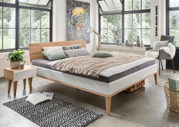 Massief houten bed Metta