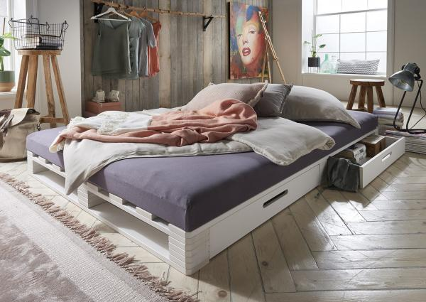 Massief houten bed Nora